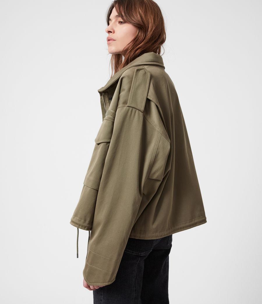 Women's Amelia Military Jacket (khaki_green) - Image 8