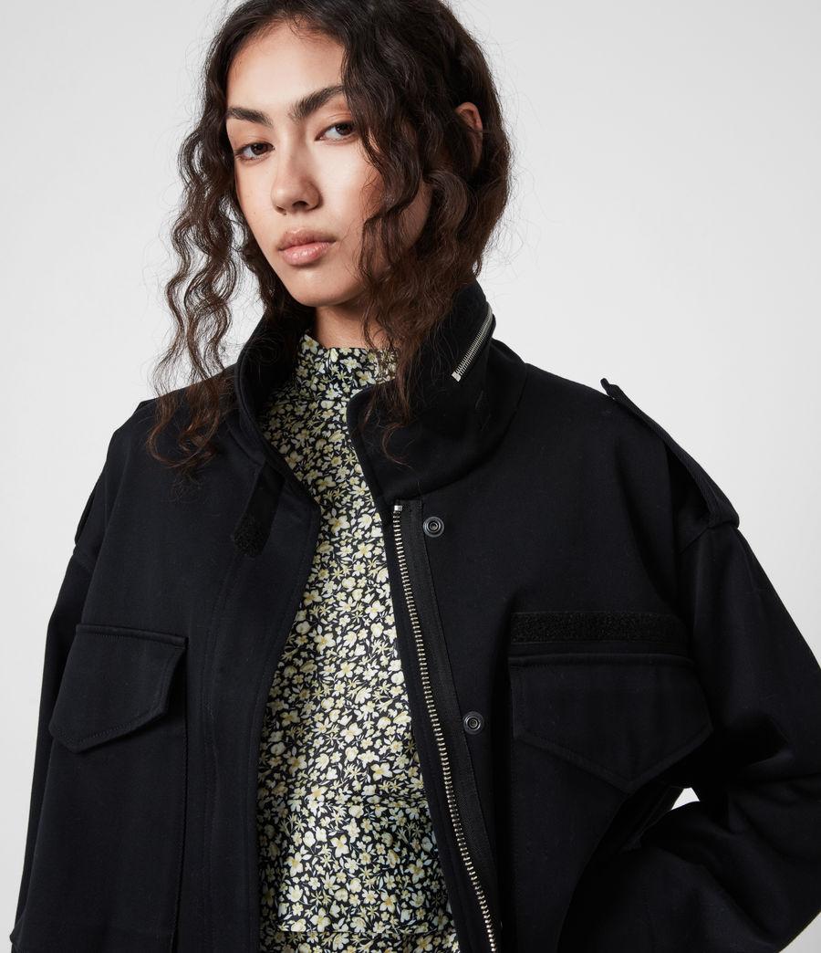 Women's Amelia Jacket (black) - Image 4