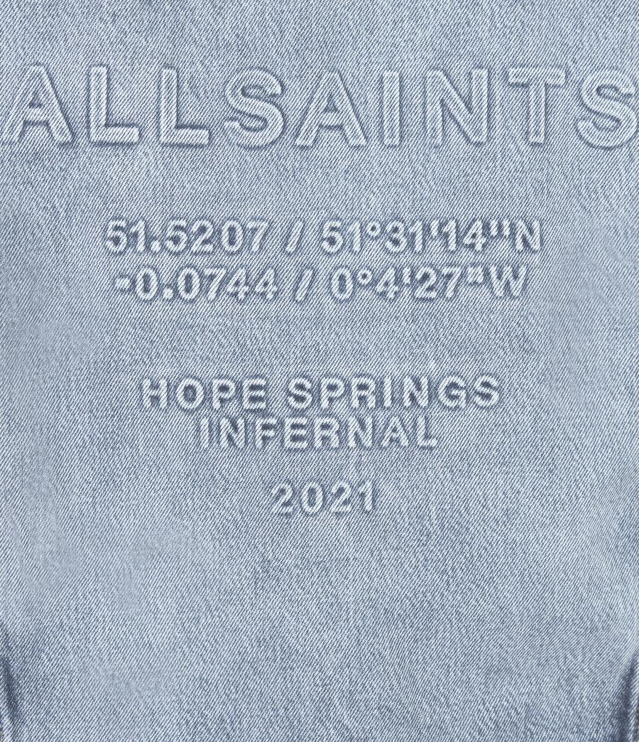 Damen Hope Springs Infernal Jeansjacke (light_indigo) - Image 6