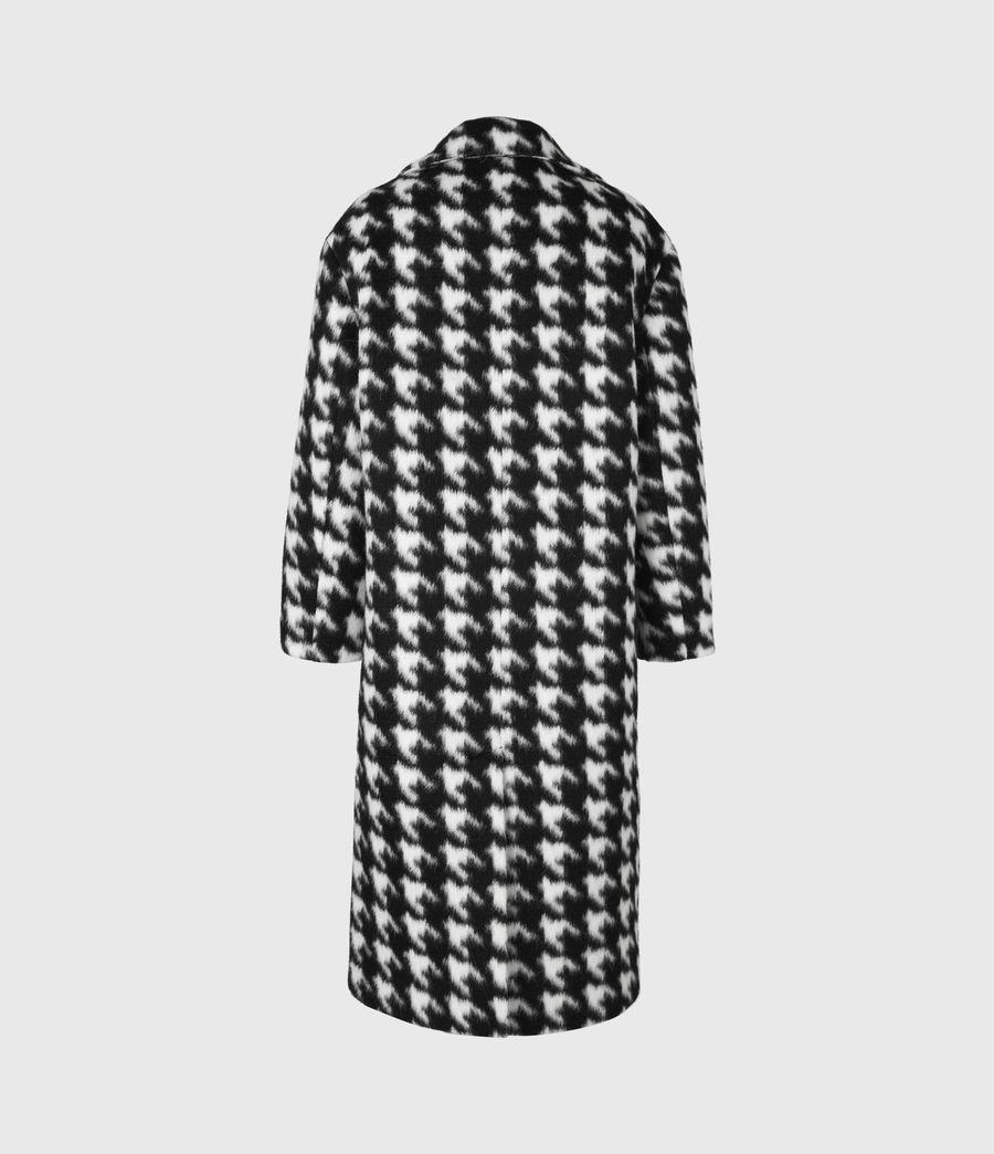 Womens Eda Coat (black_white) - Image 3