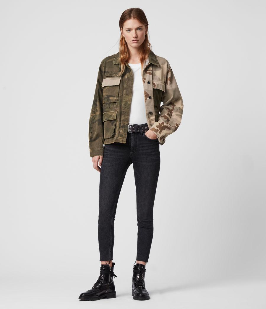 Women's Finch Camo Jacket (camo_green) - Image 3