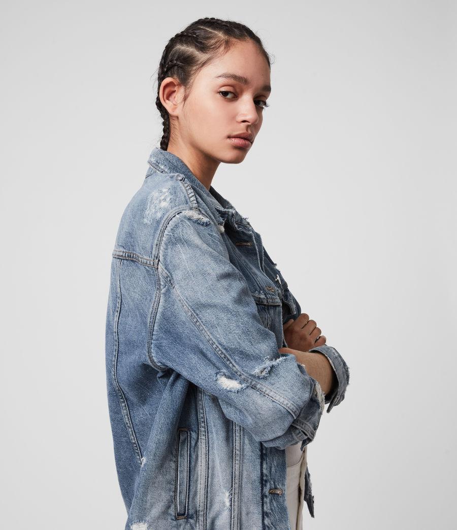 Womens Mila Denim Jacket (indigo_blue) - Image 2
