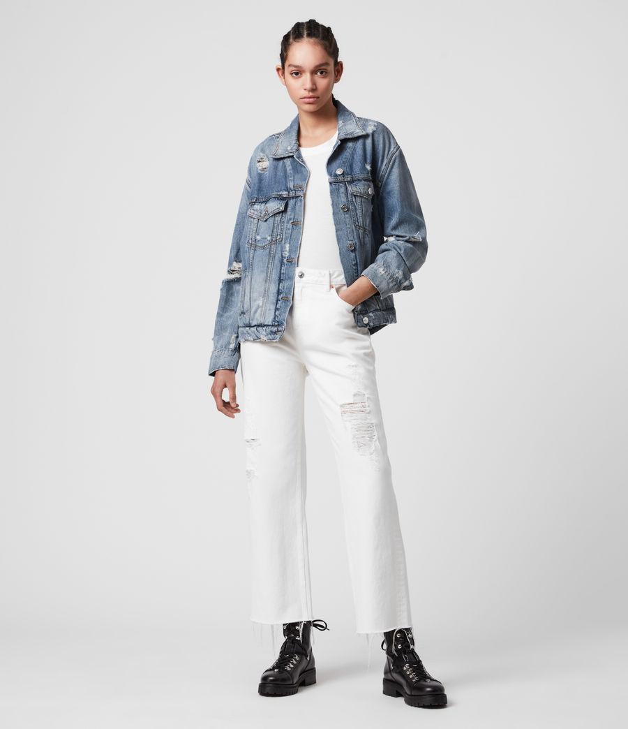 Women's Mila Denim Jacket (indigo_blue) - Image 3