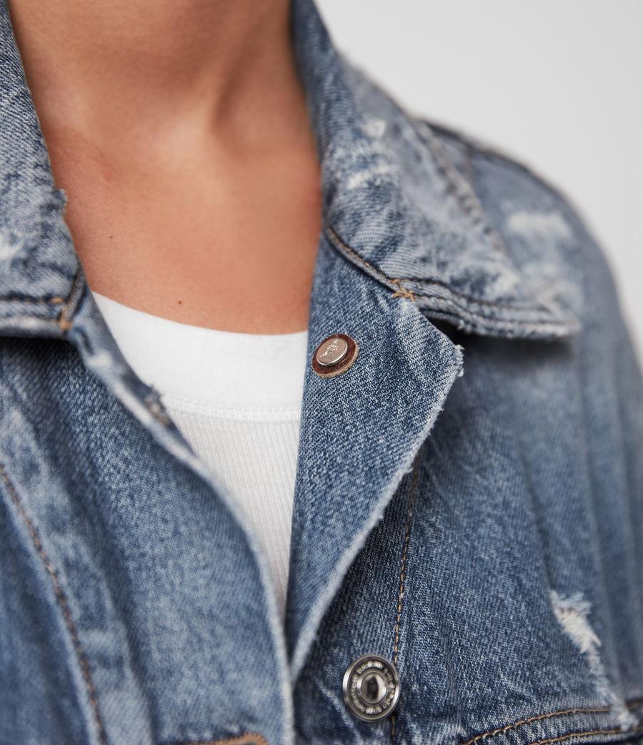 Women's Mila Denim Jacket (indigo_blue) - Image 5
