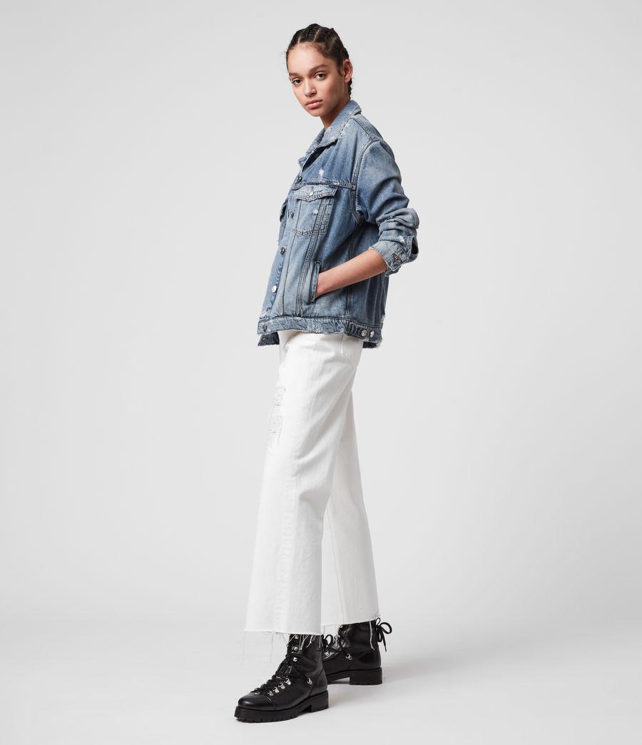 Womens Mila Denim Jacket (indigo_blue) - Image 6