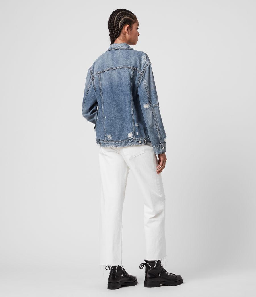 Women's Mila Denim Jacket (indigo_blue) - Image 7