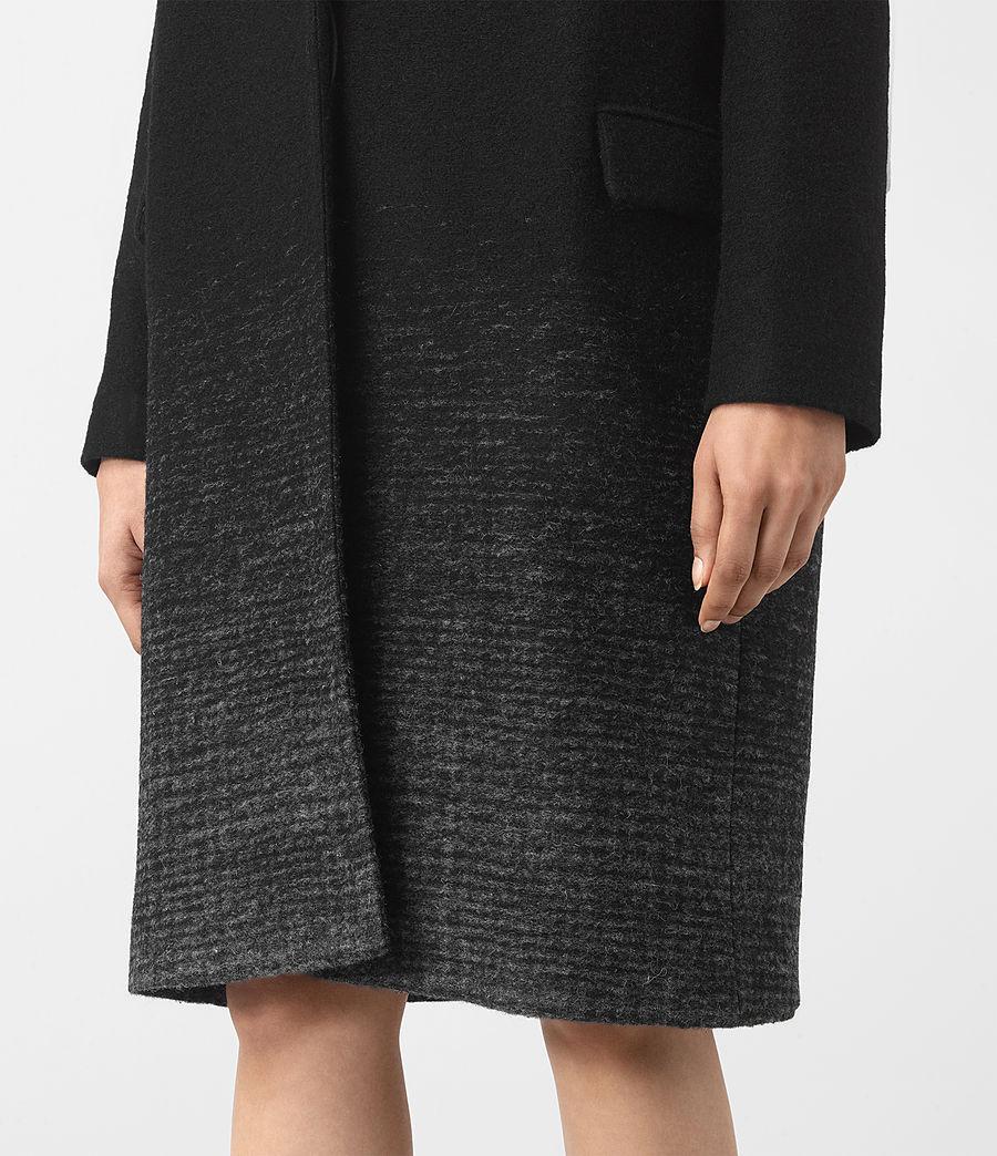 Women's Sancia Coat (black_grey) - Image 2