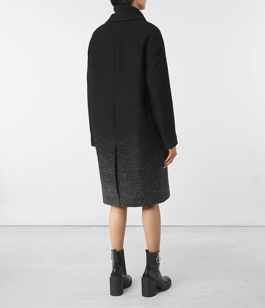 Women's Sancia Coat (black_grey) - Image 5