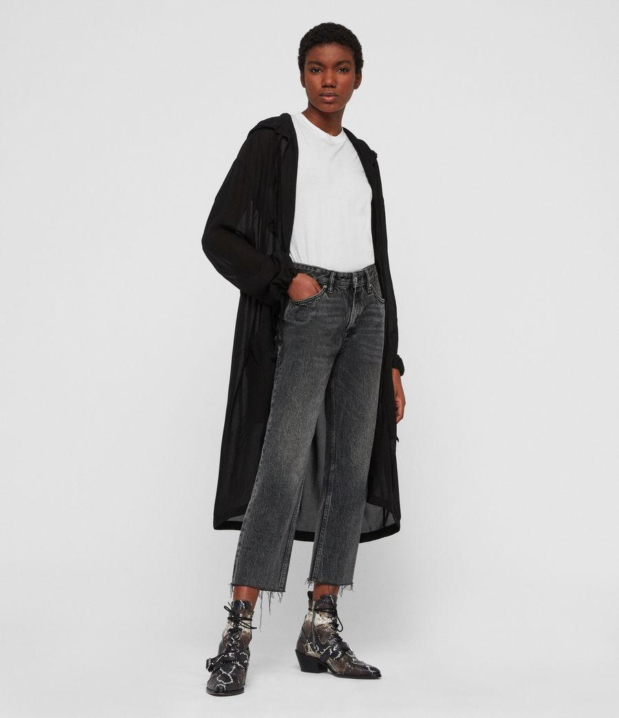 Femmes Parka Riley (black) - Image 3