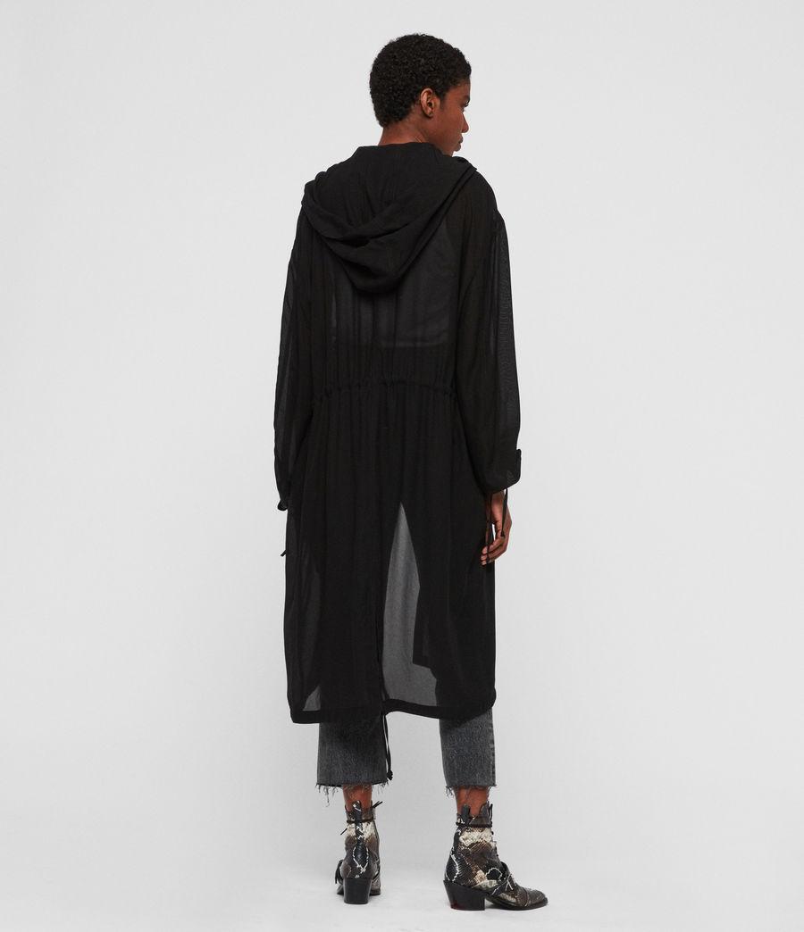 Womens Riley Parka (black) - Image 5