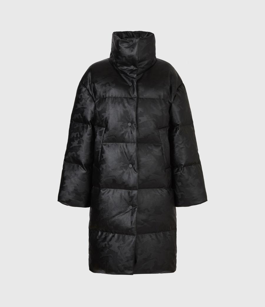 Women's Lexie Ramskull Puffer Coat (black) - Image 2