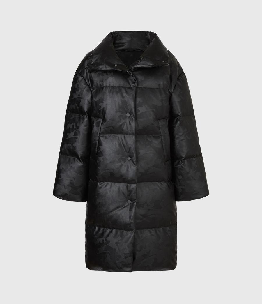 Women's Lexie Ramskull Puffer Coat (black) - Image 3