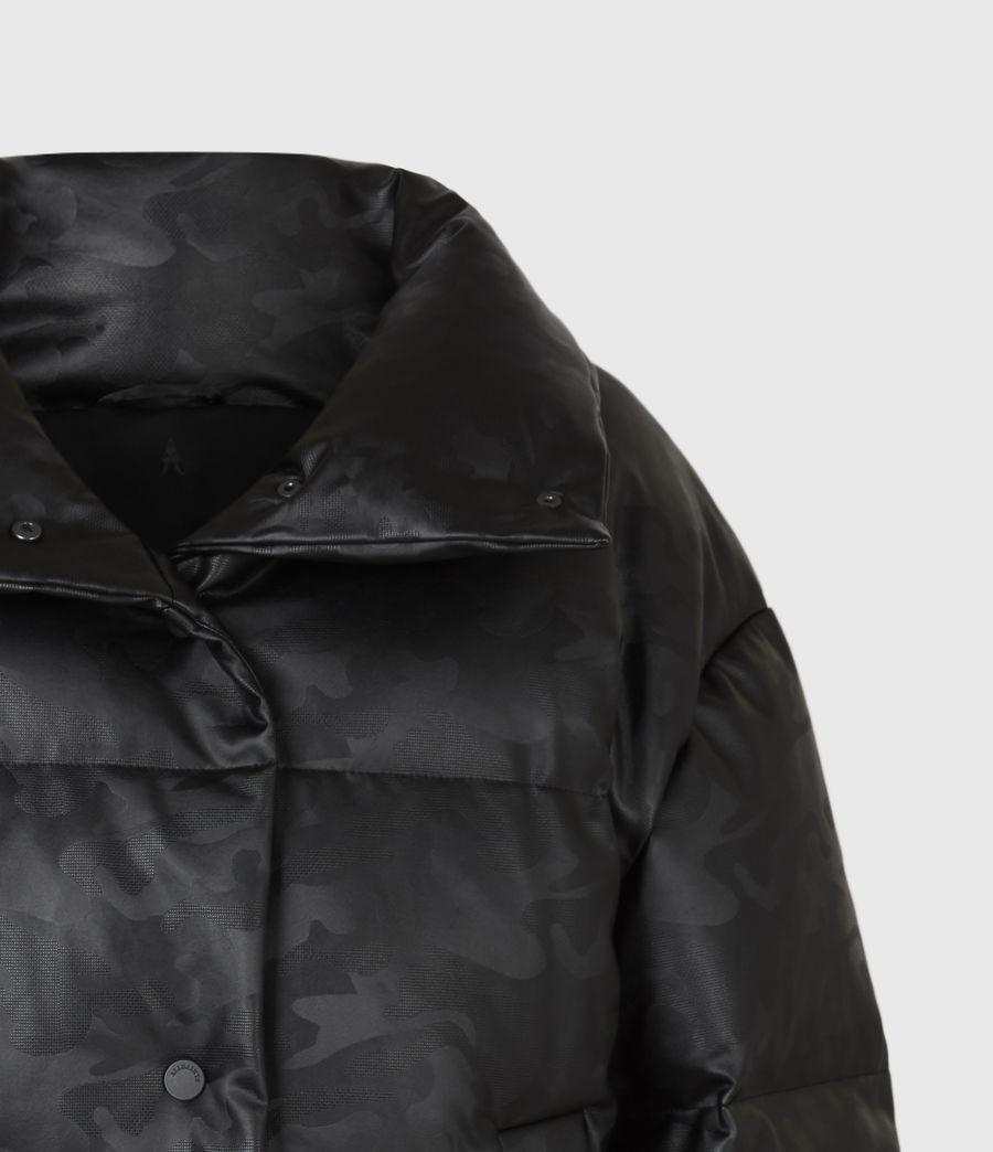 Women's Lexie Ramskull Puffer Coat (black) - Image 6