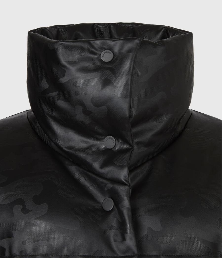 Women's Lexie Ramskull Puffer Coat (black) - Image 7