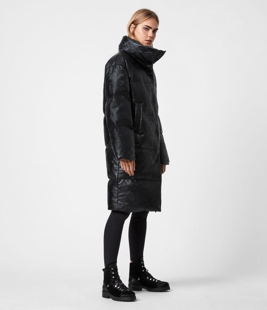 Women's Lexie Ramskull Puffer Coat (black) - Image 8