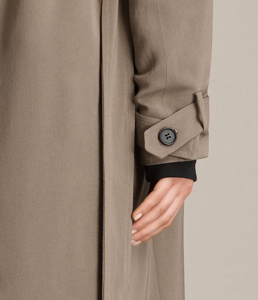 Femmes Trench-coat Amelie (sage_green) - Image 4