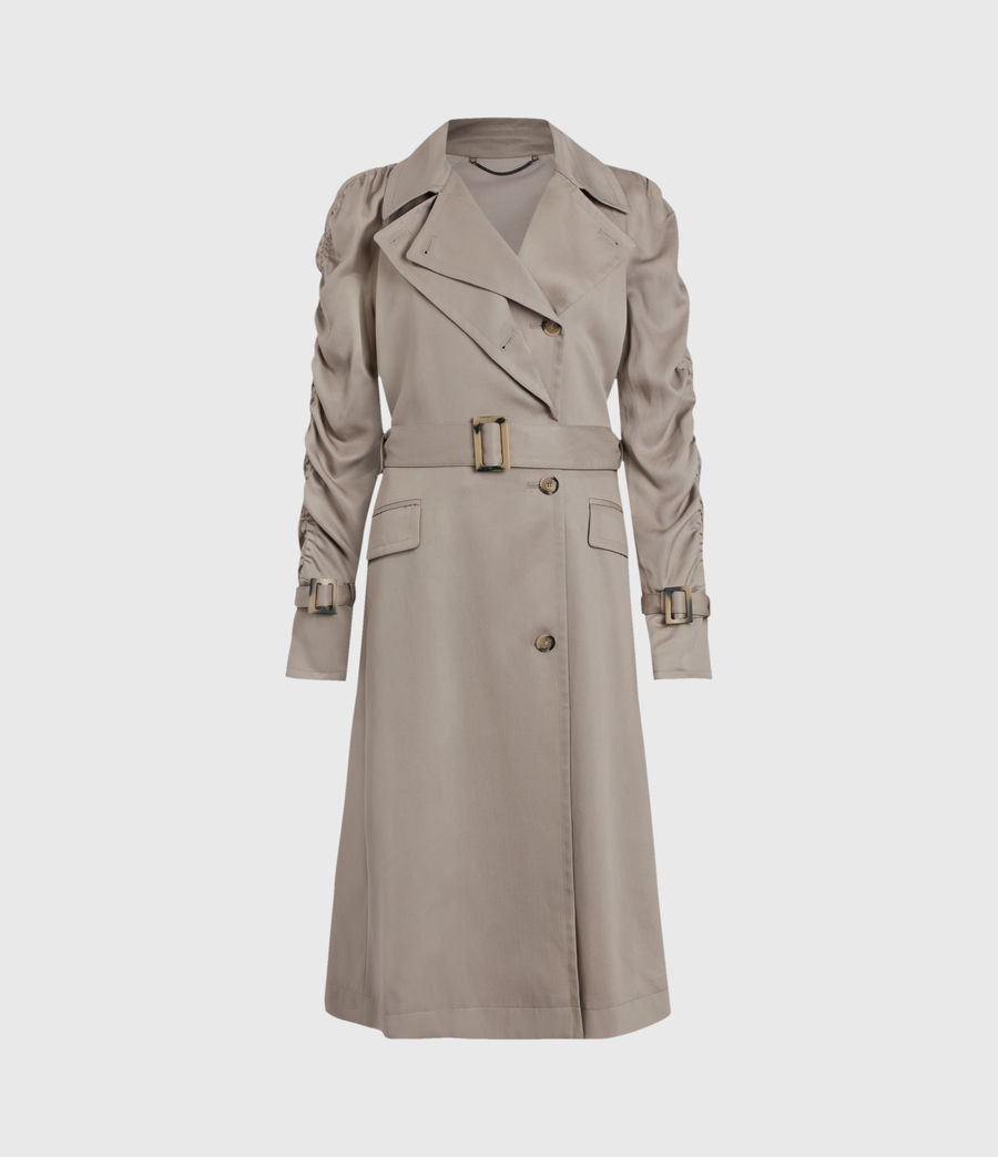 Damen Cecil Trench Coat (pebble_grey) - Image 1