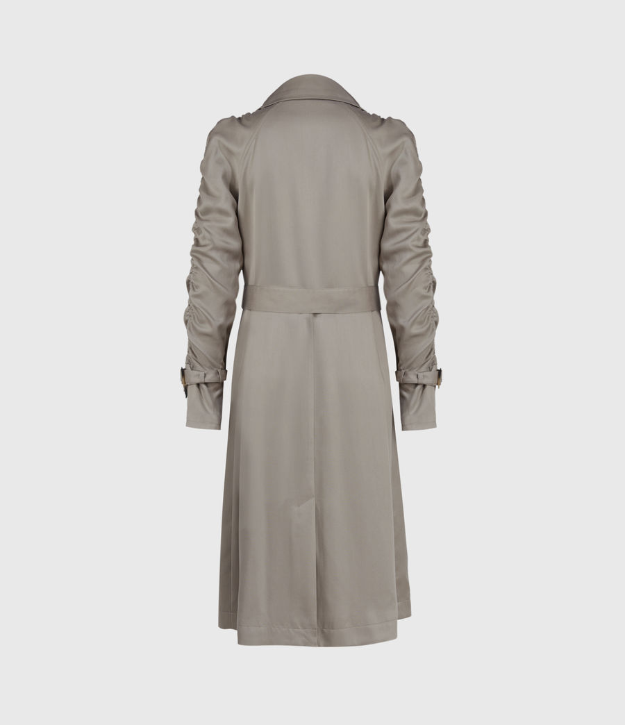 Damen Cecil Trench Coat (pebble_grey) - Image 2