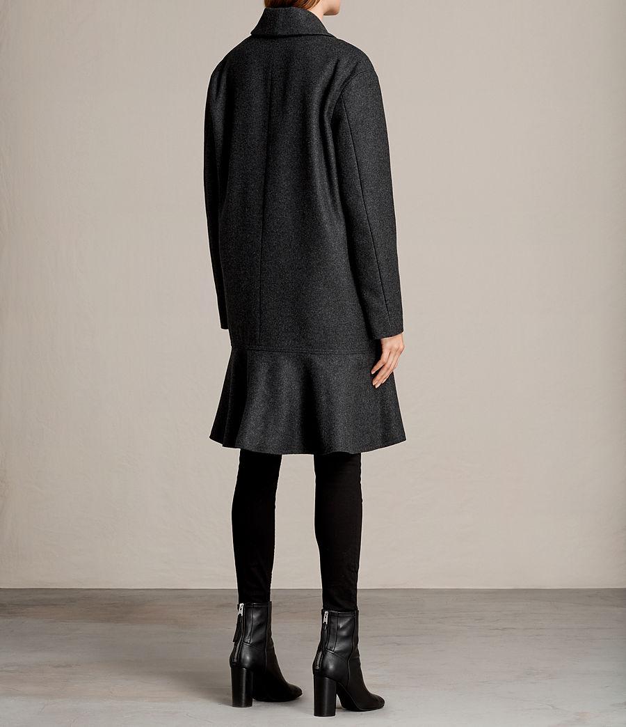 Femmes Manteau Grace (charcoal_grey) - Image 6