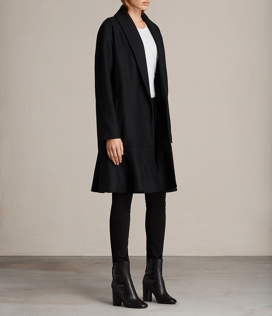 Femmes Manteau Grace (black) - Image 3