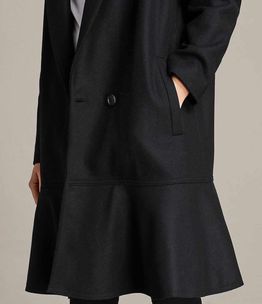 Femmes Manteau Grace (black) - Image 4