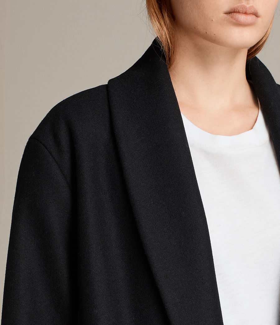 Femmes Manteau Grace (black) - Image 5