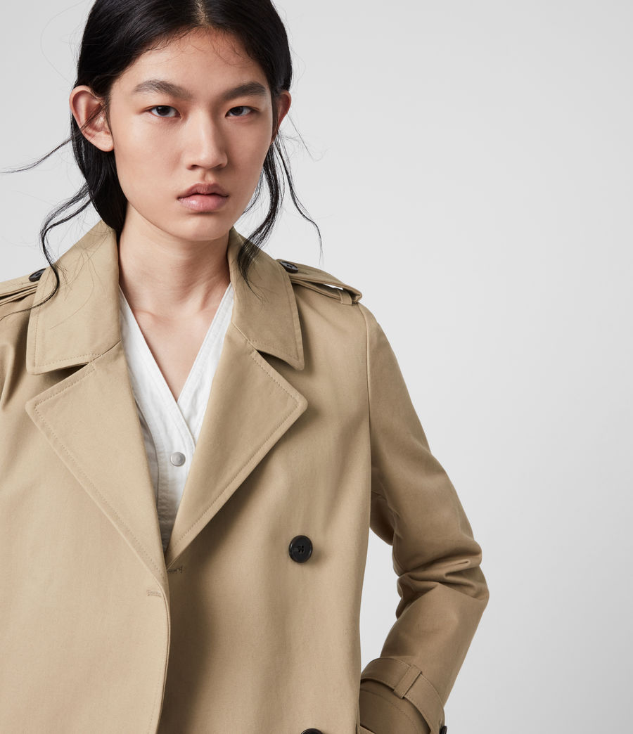 Damen Chiara Trench (light_tan) - Image 2