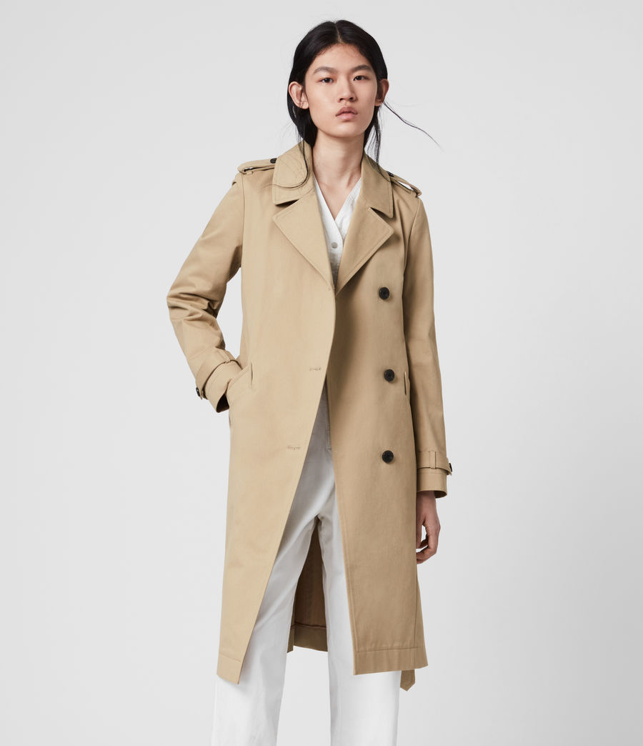 Damen Chiara Trench (light_tan) - Image 3