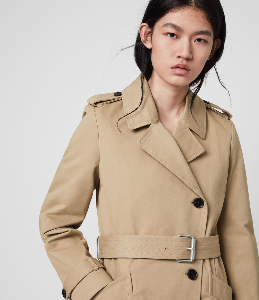 Damen Chiara Trench (light_tan) - Image 4