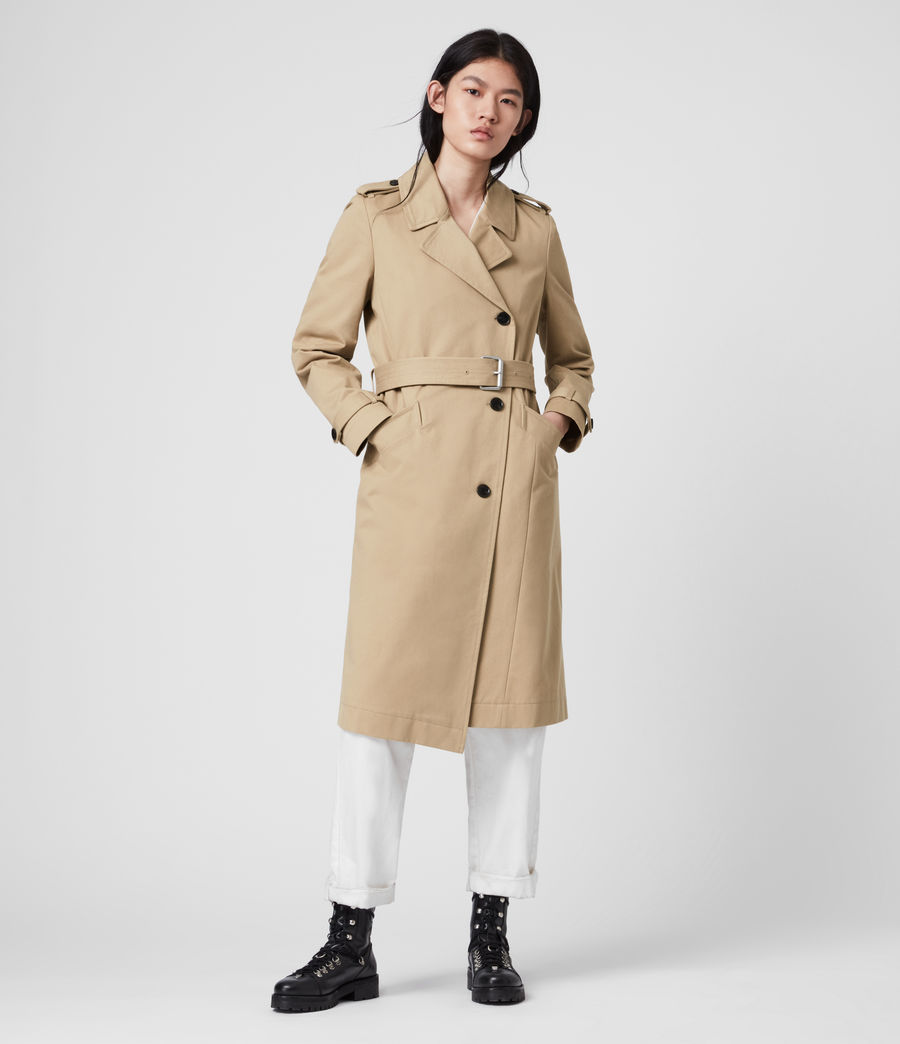 Damen Chiara Trench (light_tan) - Image 5