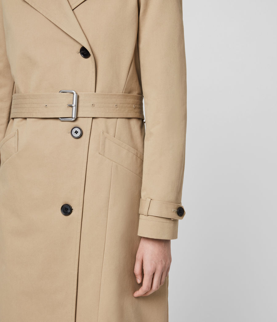 Damen Chiara Trench (light_tan) - Image 6