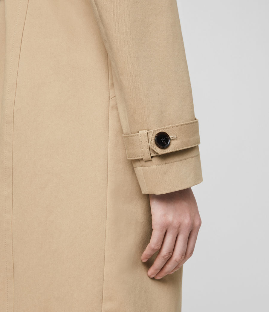 Damen Chiara Trench (light_tan) - Image 7