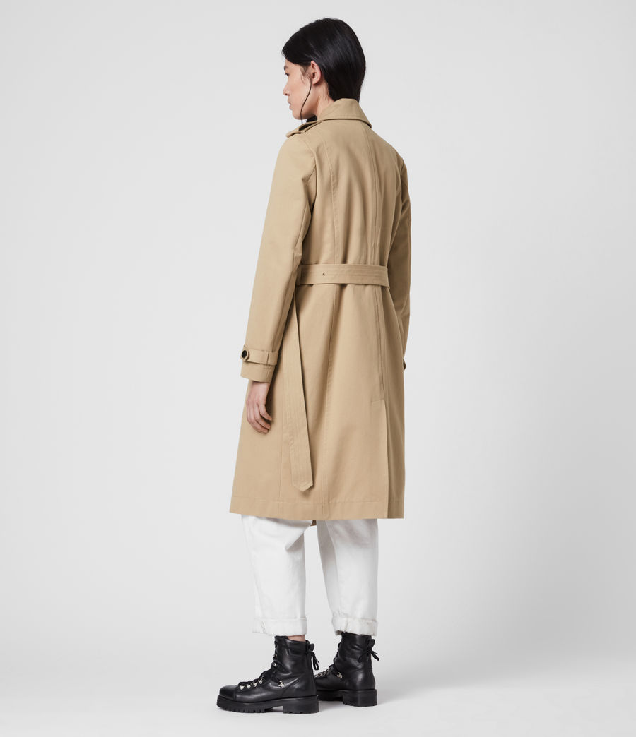 Damen Chiara Trench (light_tan) - Image 8