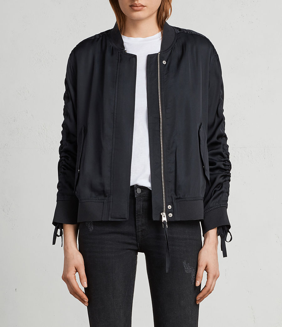 Women's Ellis Bomber Jacket (quartz_pink) - Image 1