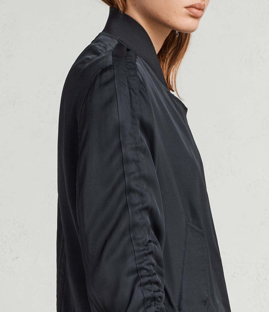 Women's Ellis Bomber Jacket (quartz_pink) - Image 2