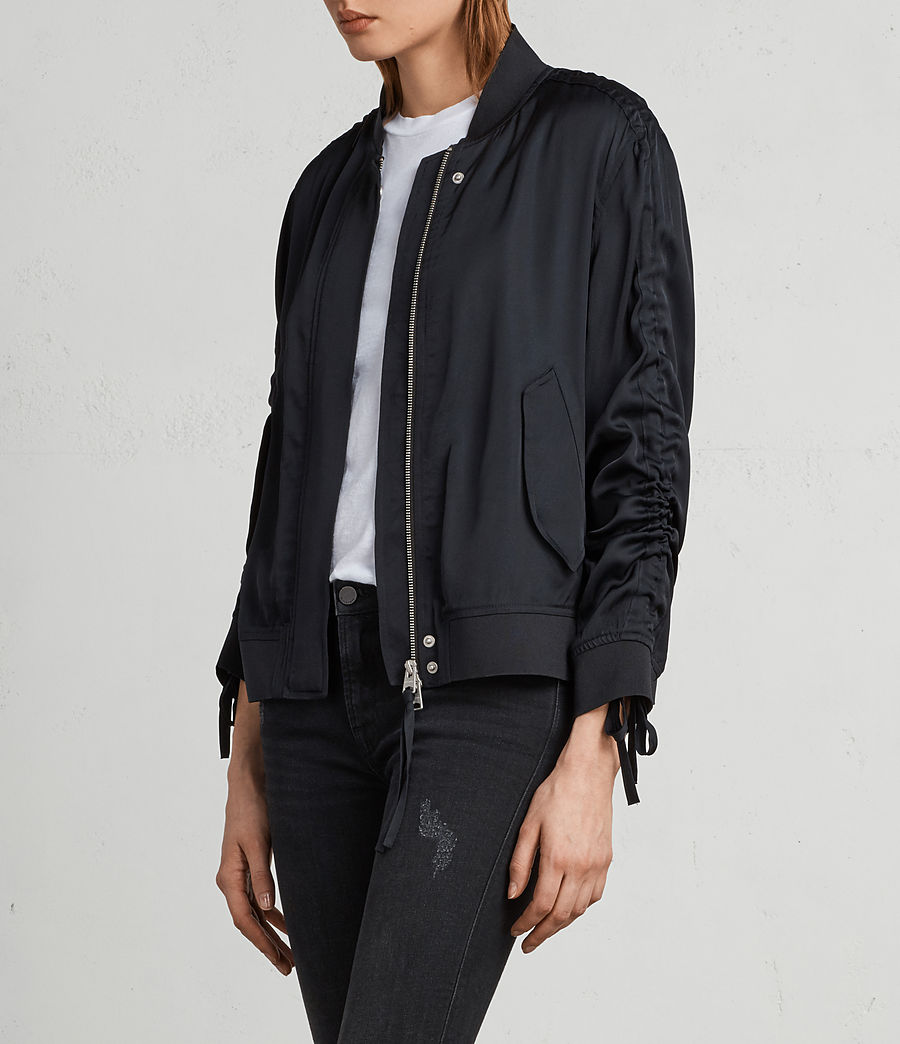 Women's Ellis Bomber Jacket (quartz_pink) - Image 3