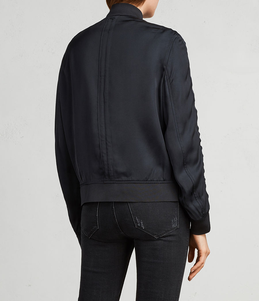 Women's Ellis Bomber Jacket (quartz_pink) - Image 5