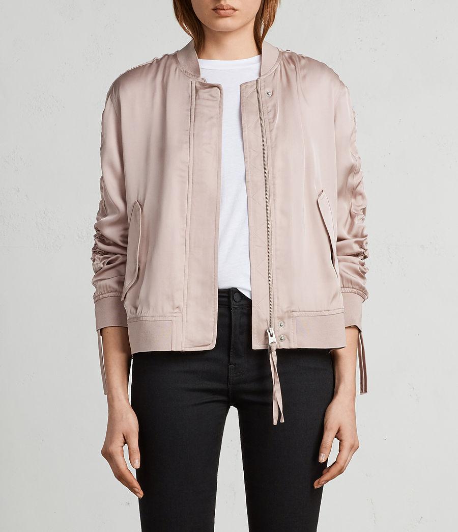 Women's Ellis Bomber Jacket (quartz_pink) - Image 1