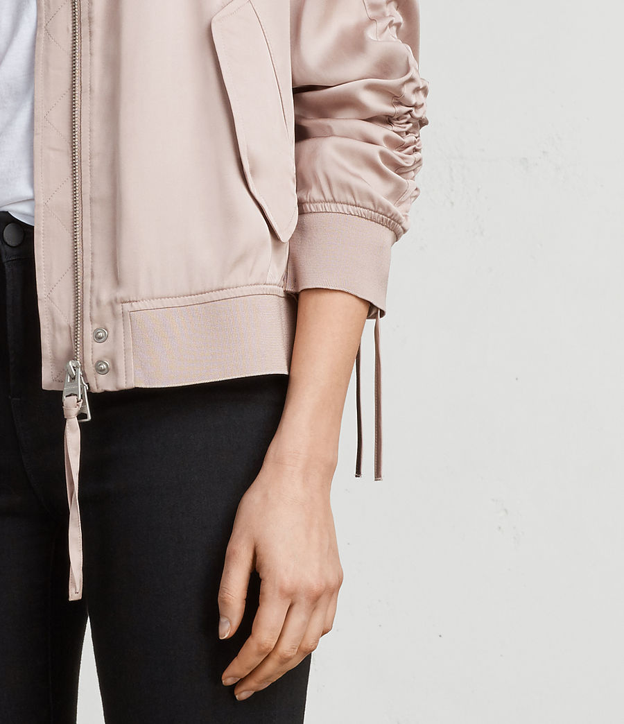 Womens Ellis Bomber Jacket (quartz_pink) - Image 2