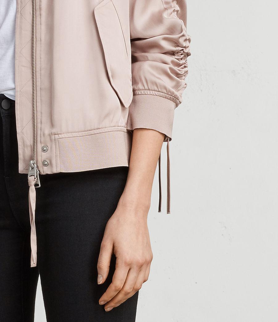 Women's Ellis Bomber Jacket (quartz_pink) - Image 2