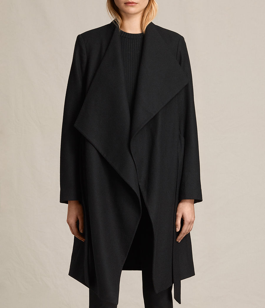 Women's Lora Coat (black) - Image 6