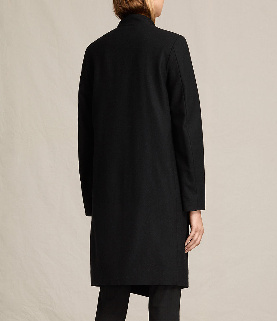 Women's Lora Coat (black) - Image 1