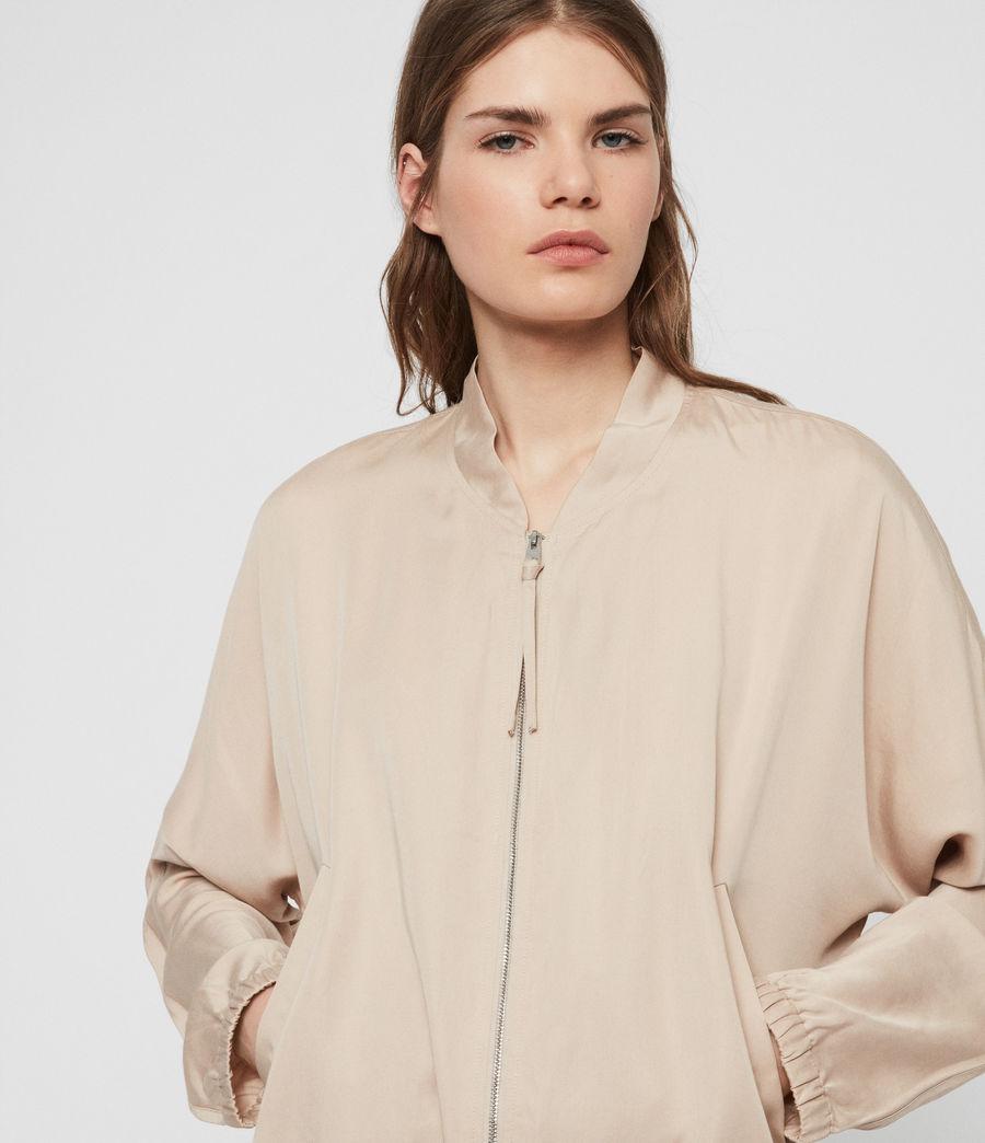Women's Lyra Bomber Jacket (blush_pink) - Image 1