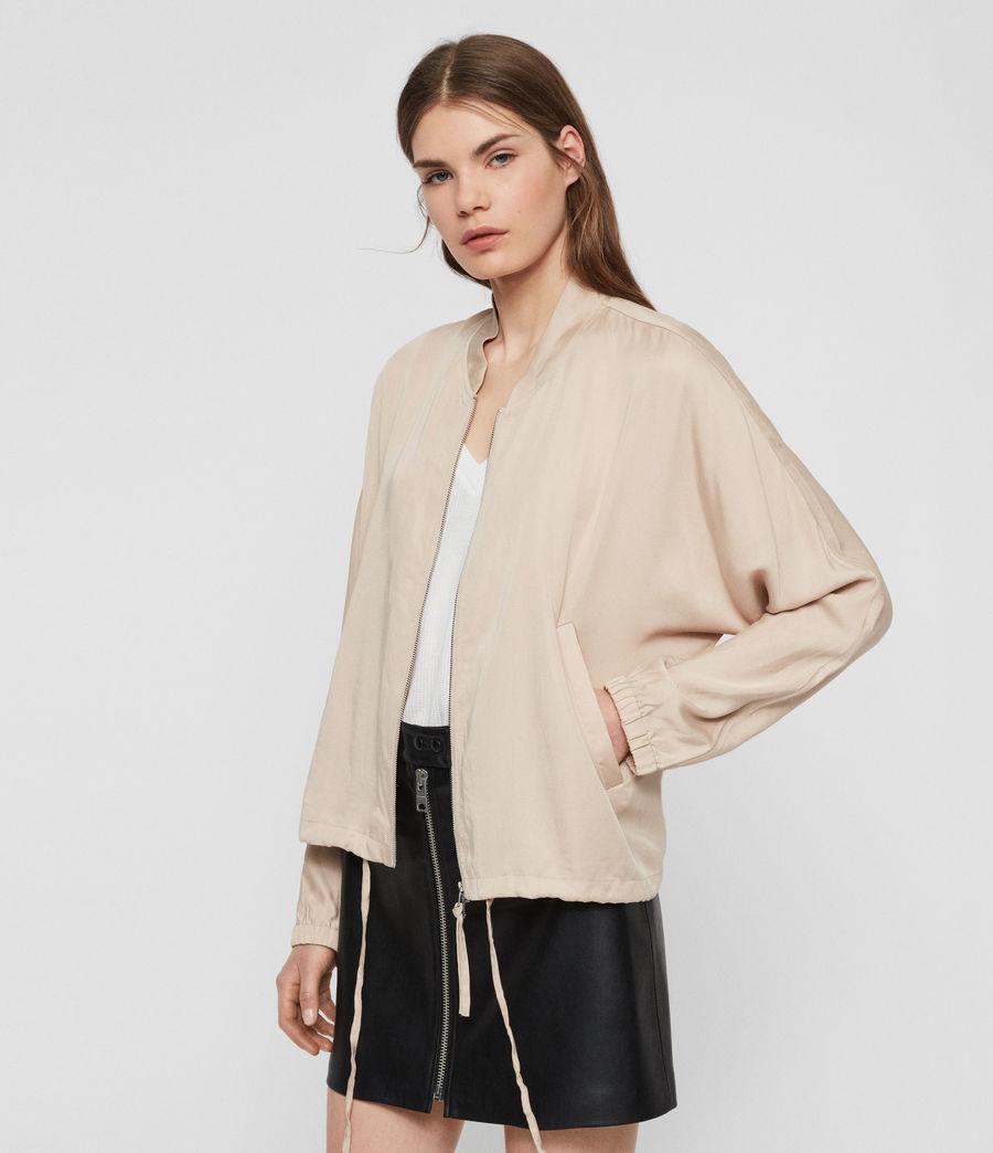Women's Lyra Bomber Jacket (blush_pink) - Image 5