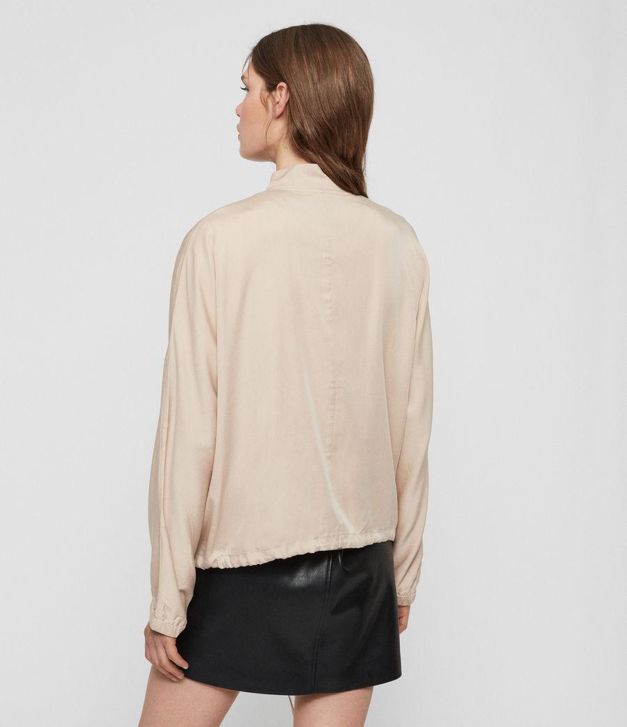 Women's Lyra Bomber Jacket (blush_pink) - Image 6