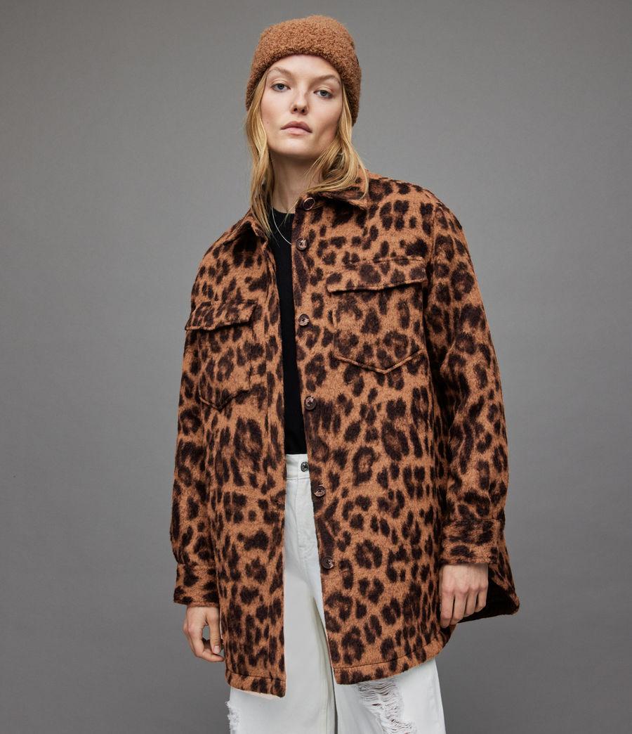 Women's Sophie Leo Jacket (brown) - Image 3