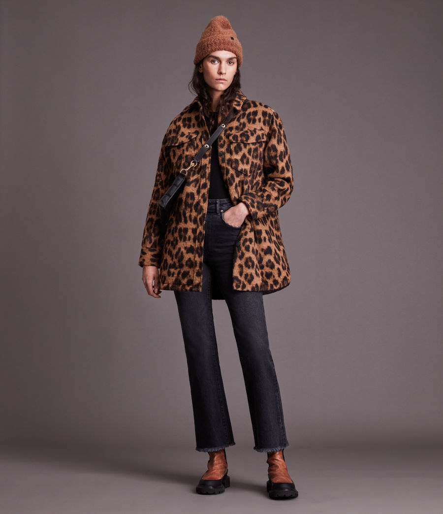 Women's Sophie Leo Jacket (brown) - Image 4