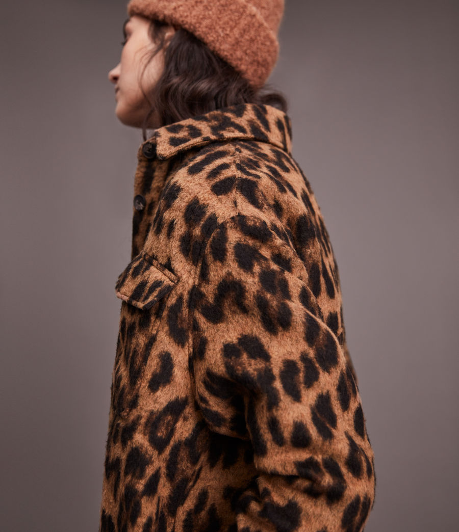Women's Sophie Leo Jacket (brown) - Image 6