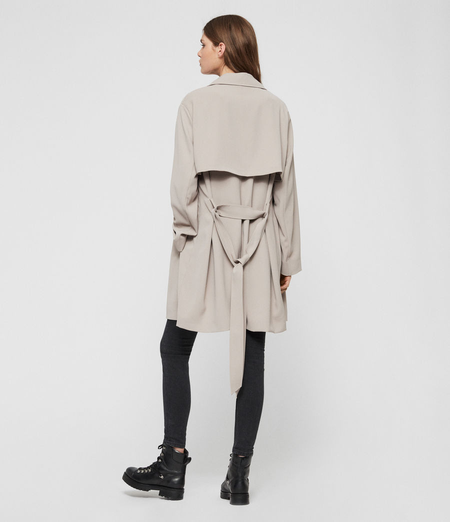 Womens Nadria Trench Coat (latte_beige) - Image 7