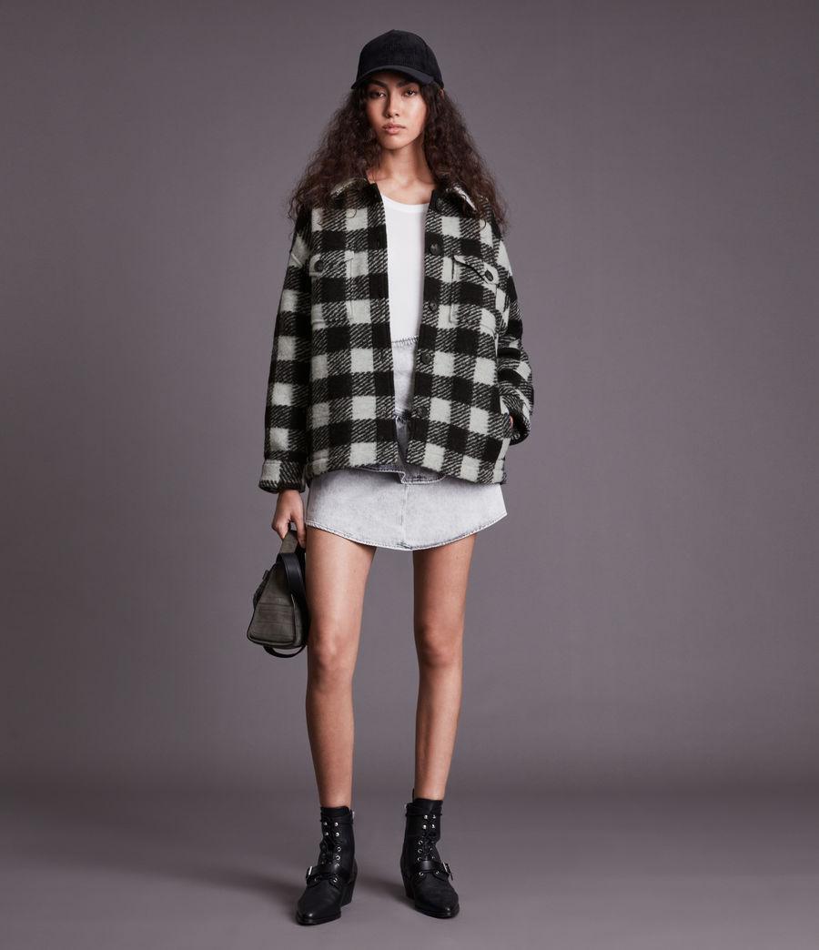 Women's Fenix Check Jacket (black_white) - Image 3